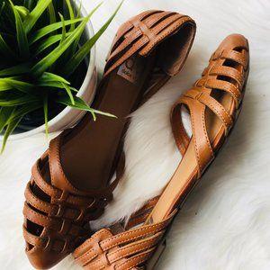 DV Dolce Vita Camel IXTAPA Slip On Flats Sandals